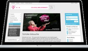 Deutsche Telekom Ausbildungskampagne