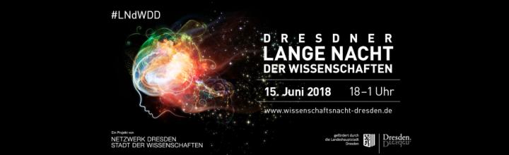Was macht Dresden am 15. Juni 2018? Von 18 bis 1 macht jeder Science!