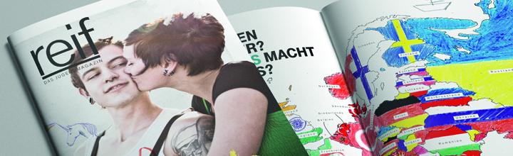 """Neue Ausgabe des Jugendmagazins """"reif"""" zum Thema Glück erschienen"""