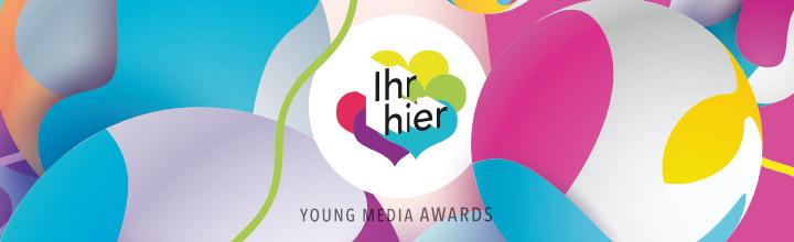 Die Gewinner der Ihr hier – Young Media Awards 2018 – jungvornweg prämiert zum 7. Mal junge Content Creator