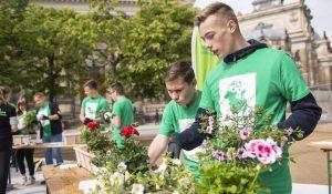 Open-Gardening-Aktion