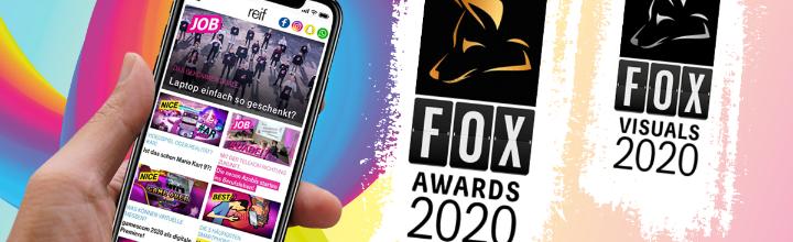 FOX Award für  effiziente Kommunikation in die junge Zielgruppe