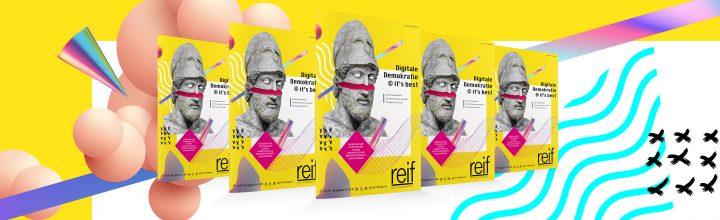 """""""Digitale Demokratie"""" – das neue reif-Magazin kommt mit Schüler:innen in den Dialog"""